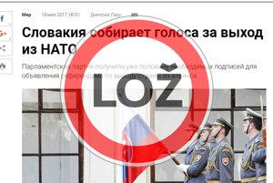 Ruské noviny Izvestia píšu o Kotlebovej petícii.