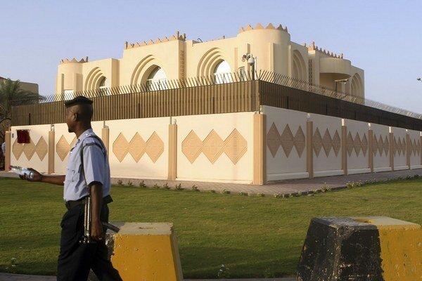 Sídlo vlády Talibanu v Katare.