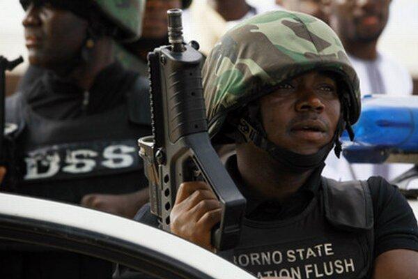 Nigérijské bezpečnostné zložky.