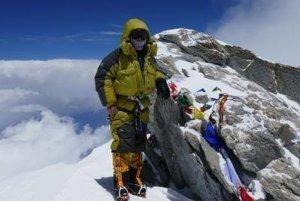 Podarilo sa. Peter Hámor na vrchole Dhaulágirí.