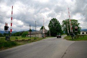 Železničné priecestie v Malom Čepčíne