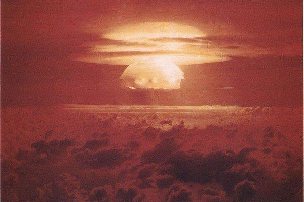 Explózia bomby Castle Bravo.