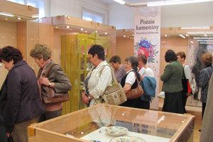 Tohotoročná výstava Poézie kameniny. Prehliadka najnovšej výstavy Poézia kameniny vMúzeu Jána Thaina vNových Zámkoch.