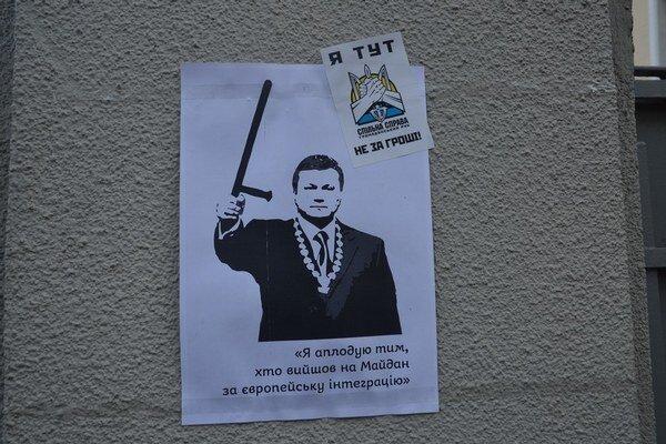 Takto vidia Janukovyča na majdane.