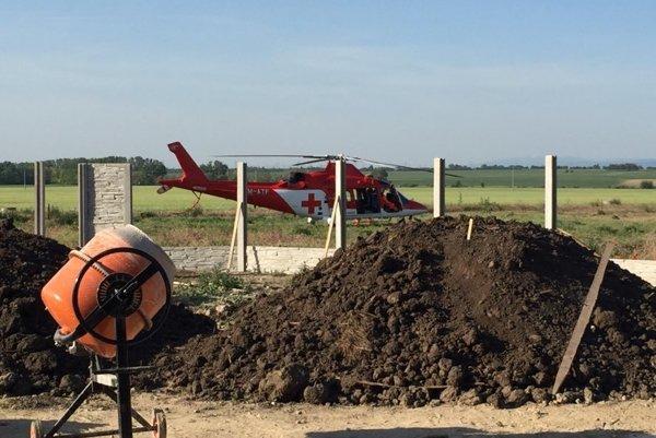 Záchranári zasahovali v pondelok v Majcichove.