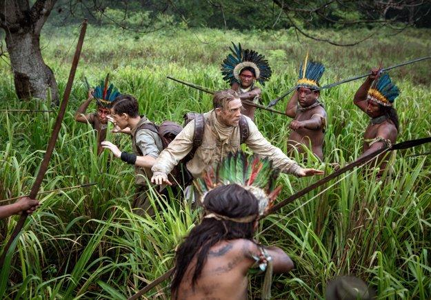 Vo filme Stratené mesto Z sa Charlie Hunnam ako Percy Fawcett vybral na prieskum do Amazónie.