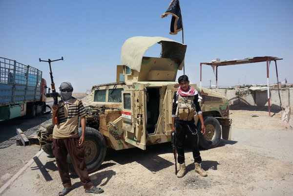 Bojovníci al-Kájdy v Iraku.