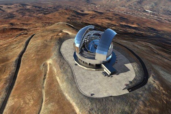 Vesmírny teleskop ELT.