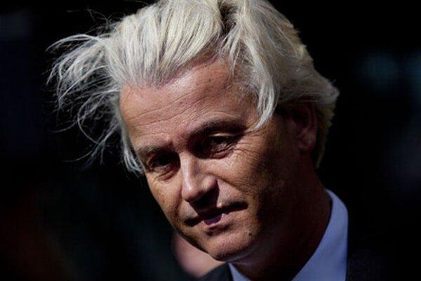 Holandský krajne pravicový politik Geert Wilders.