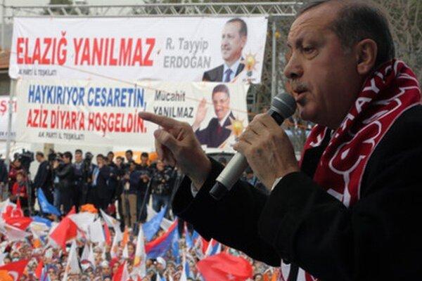 Premiér Erdogan.