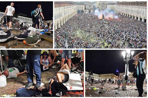 V Turíne sa po fandení stalo nešťastie.