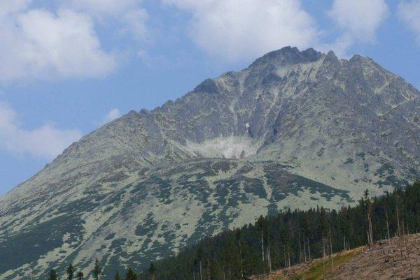 Kotlový štít. Záchranári vyrážali na pomoc horolezcom.
