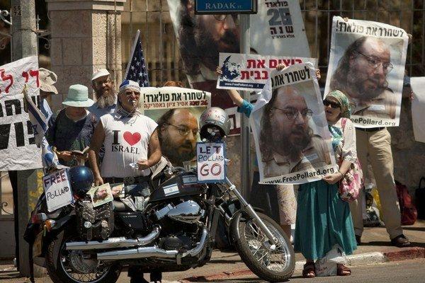 Protest na podporu Pollarda