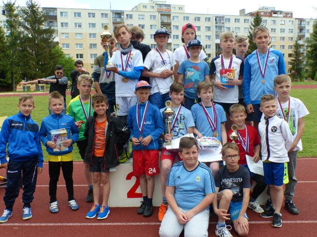 Športovú olympiádu mesta Poprad slávnostne vyhodnotili.