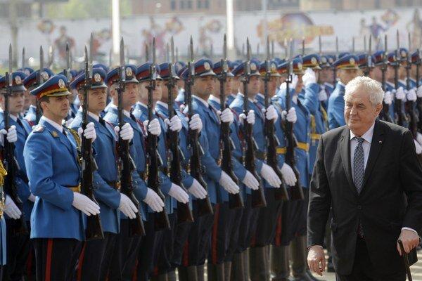 Prezident Zeman na návšteva Srbska.