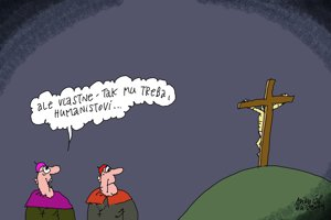 Humanisti na kríži (Sliacky)