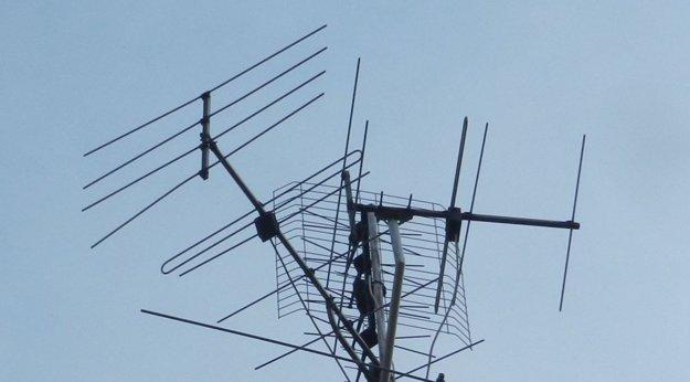 VHF anténa.