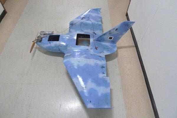 Jedno z bezpilotných lietadiel.