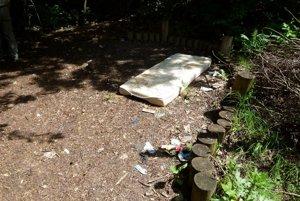 Svoje sídlo tu našli i bezdomovci.