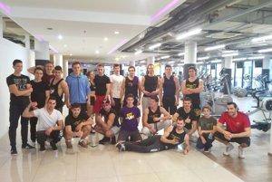 Stretnutie martinských a žilinských tímov workout-u.