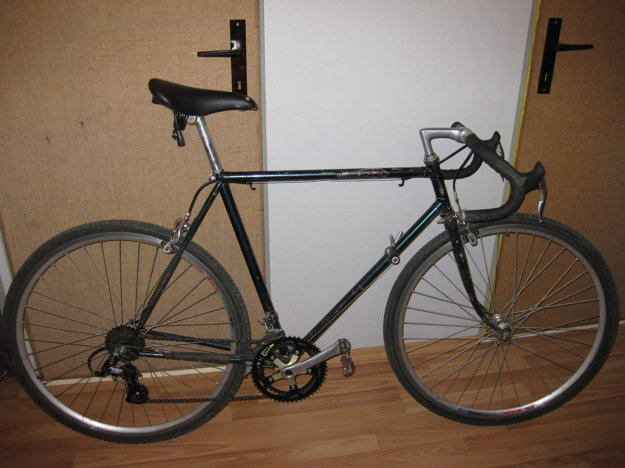 Ukradnutý bicykel.