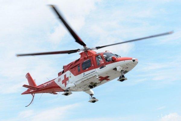 Leteckí záchranári v akcii. (ilustračná snímka)