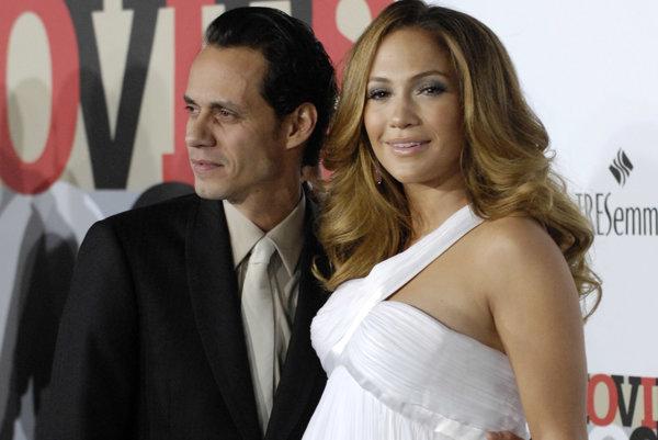Jennifer Lopez a Marc Anthony v roku 2007
