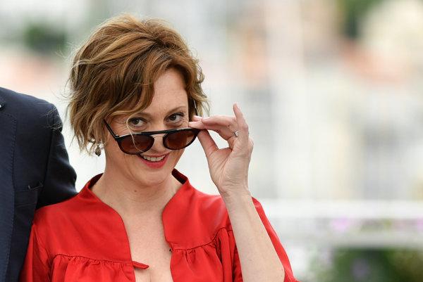 Éva Bandor, naša hviezda v Cannes.