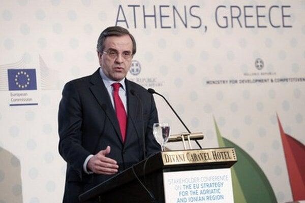 Grécky premiér Antonis Samaras.