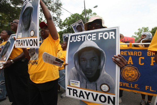 Obeť Georga Zimmermana - Trayvon Martin.