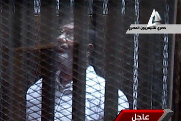 Egyptský exprezident Muhammad Mursí.
