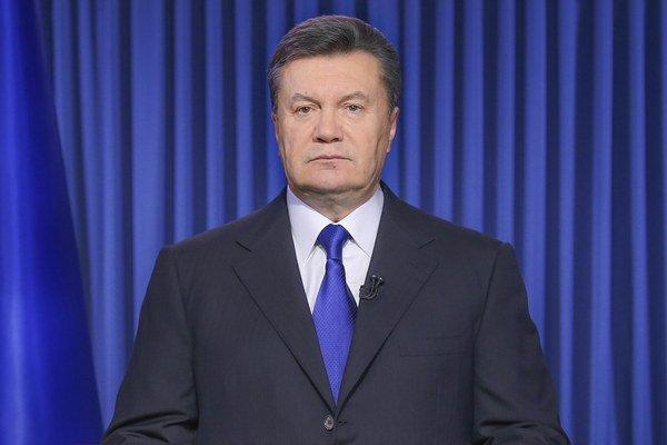 Ukrajinský prezident Viktor Janukovyč na snímke z 19. februára.