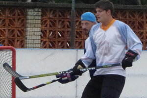 Skalická hokejbalová liga, semifinále Havana - Adidas