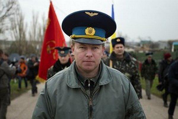 Veliteľ Jurij Mamčur.