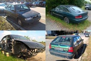 V meste Nové Zámky sa nachádza približne 22 starých vozidiel, respektíve vrakov.(ilustračná snímka)