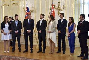 : Z predstavenia finalistov prezidentovej výzvy proti extrémizmu vo Veľkej sále Prezidentského paláca, 12. júna 2017 v Bratislave.