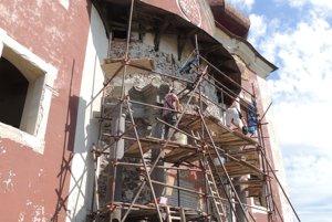 Horný kostol na kalvárii zahalí lešenie, čaká ho kompletná rekonštrukcia.
