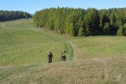 Hrebeň Levočských planín je parádnym terénom aj pre cykloturistov.