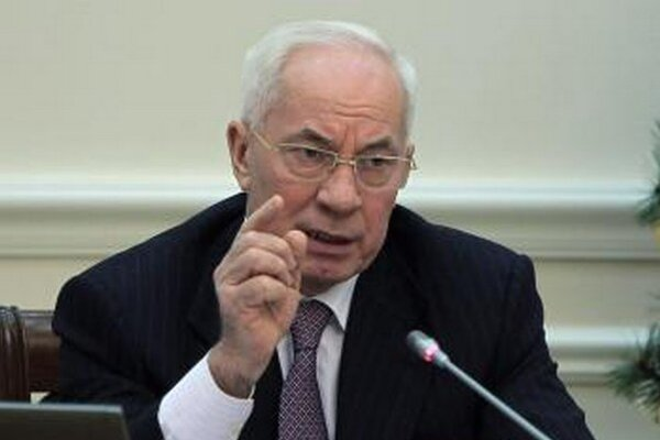 Ukrajinský premiér Mykola Azarov.