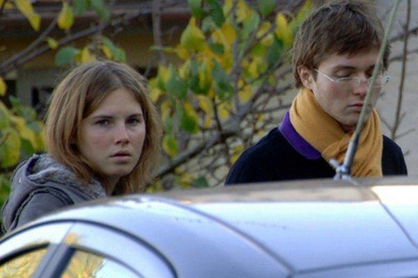 Amandu Knoxová a Raffaele Sollecito na fotografii z roku 2007.