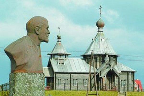 Ruský vplyv je na nehostinných Kurilských ostrovoch neprehliadnuteľný.