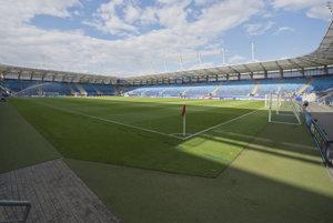 Štadión v Lubline, na ktorom odohrajú mladí Slováci dva zápasy základnej skupiny.