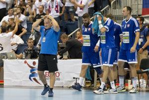 Slovenská hádzanárska reprezentácia nezvládla ani posledný kvalifikačný zápas.