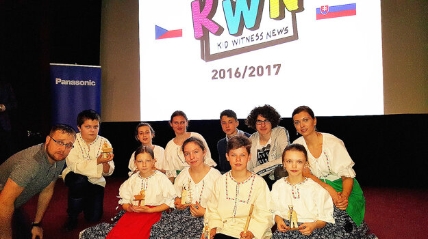 Na celoslovenské finále filmárskej súťaže, ktoré sa konalo v Prahe, postúpili okrem Trstenčanov aj školáci z Vitanovej.