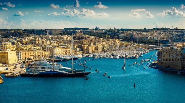 Valletta, hlavné mesto Malty.