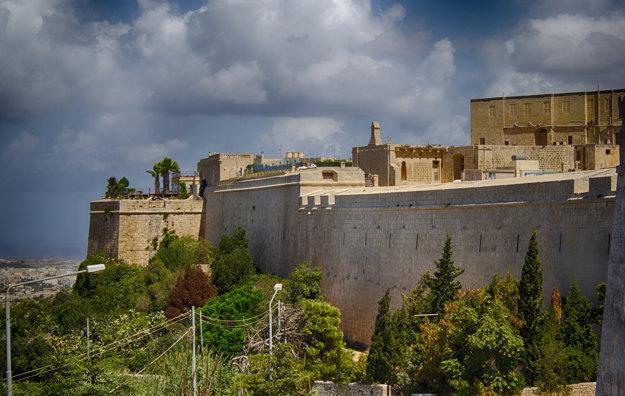 Mesto Mdina na ostrove Malta.