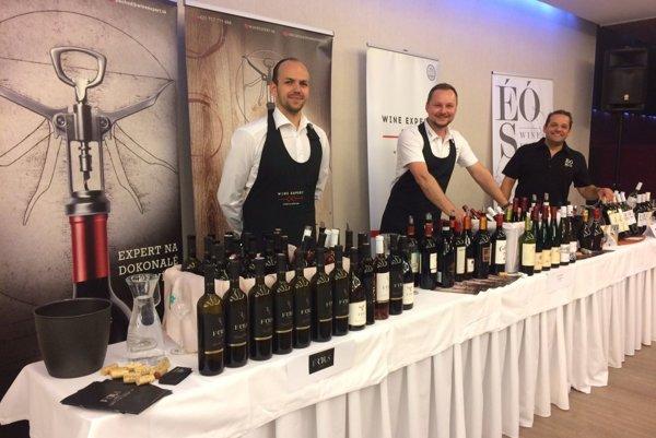 Svoje vína prišlo prezentovať vyše 30 spoločností a vinárstiev.