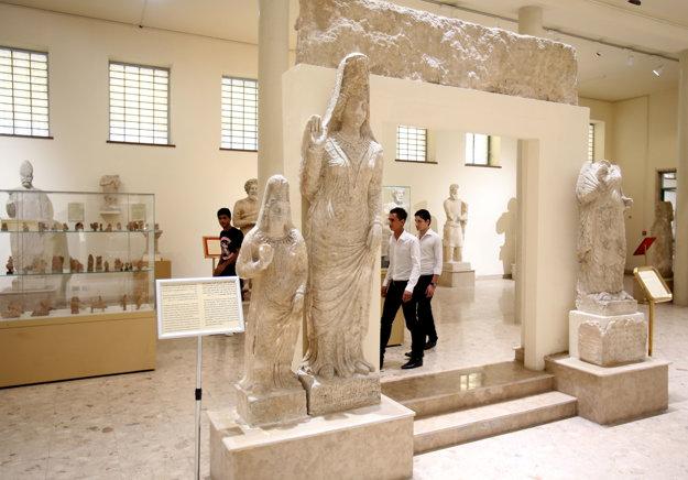 Mosulské múzeum.