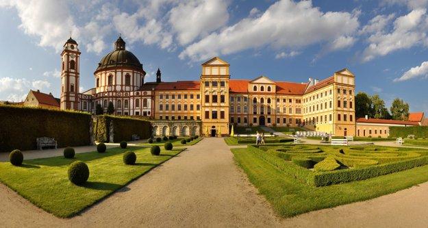 Barokový zámok Jaroměřice nad Rokytnou