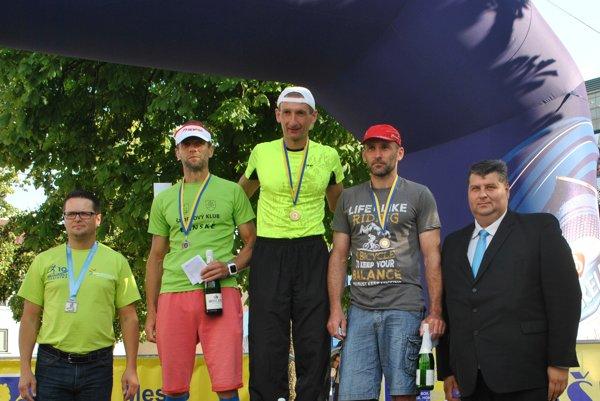 Muži od 40 do 49 rokov – víťaz Spišiak Tomáš Kamas.